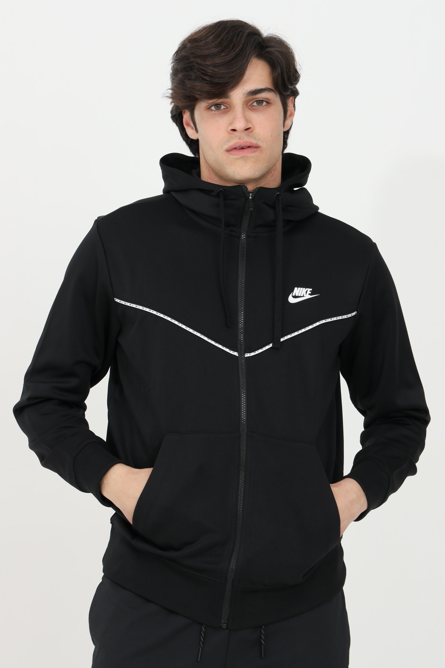 Hoodie and full-length zip NIKE | Sweatshirt | CZ7822010