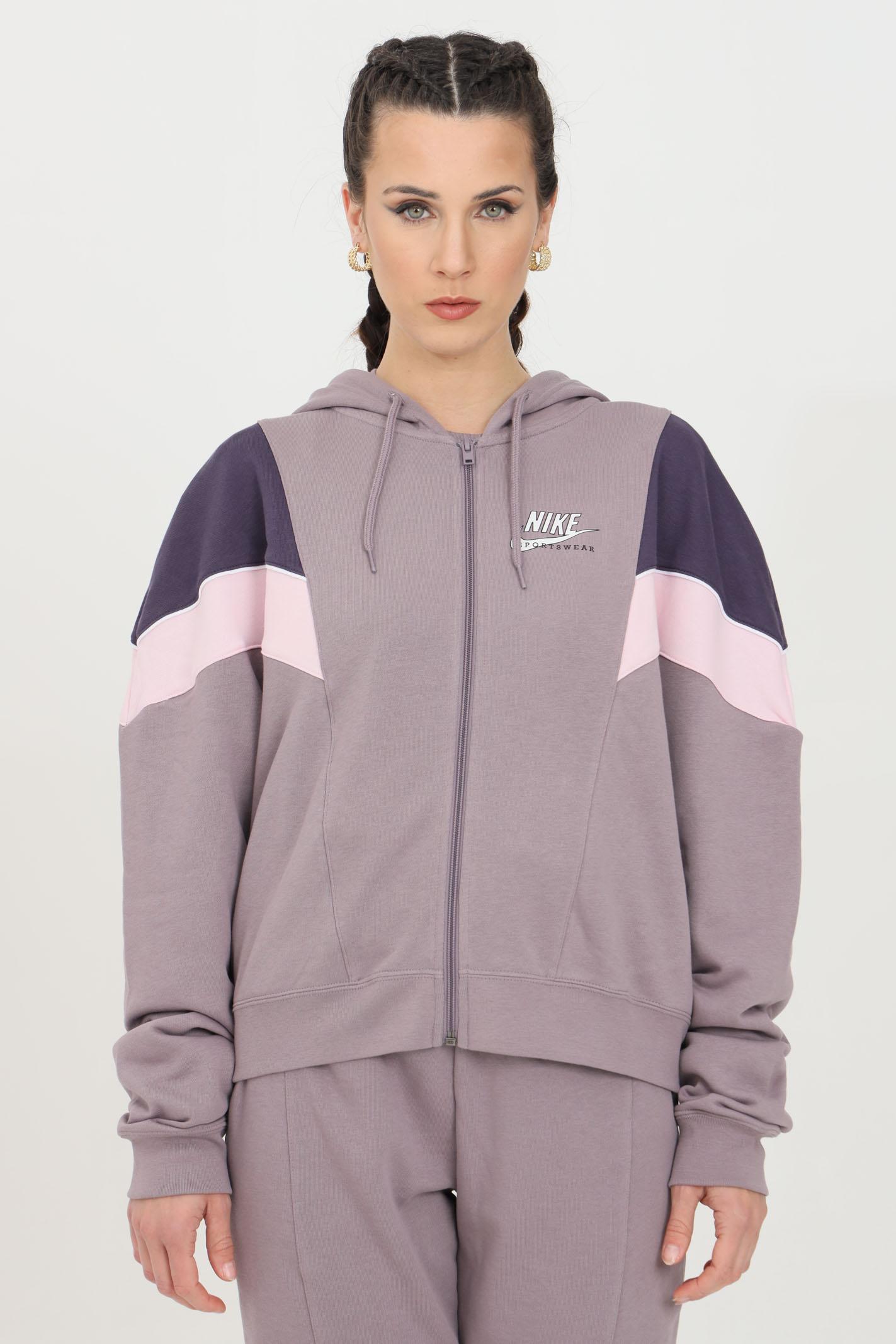 Heritage sweatshirt with full-length zip and hood NIKE | Sweatshirt | CZ8600531