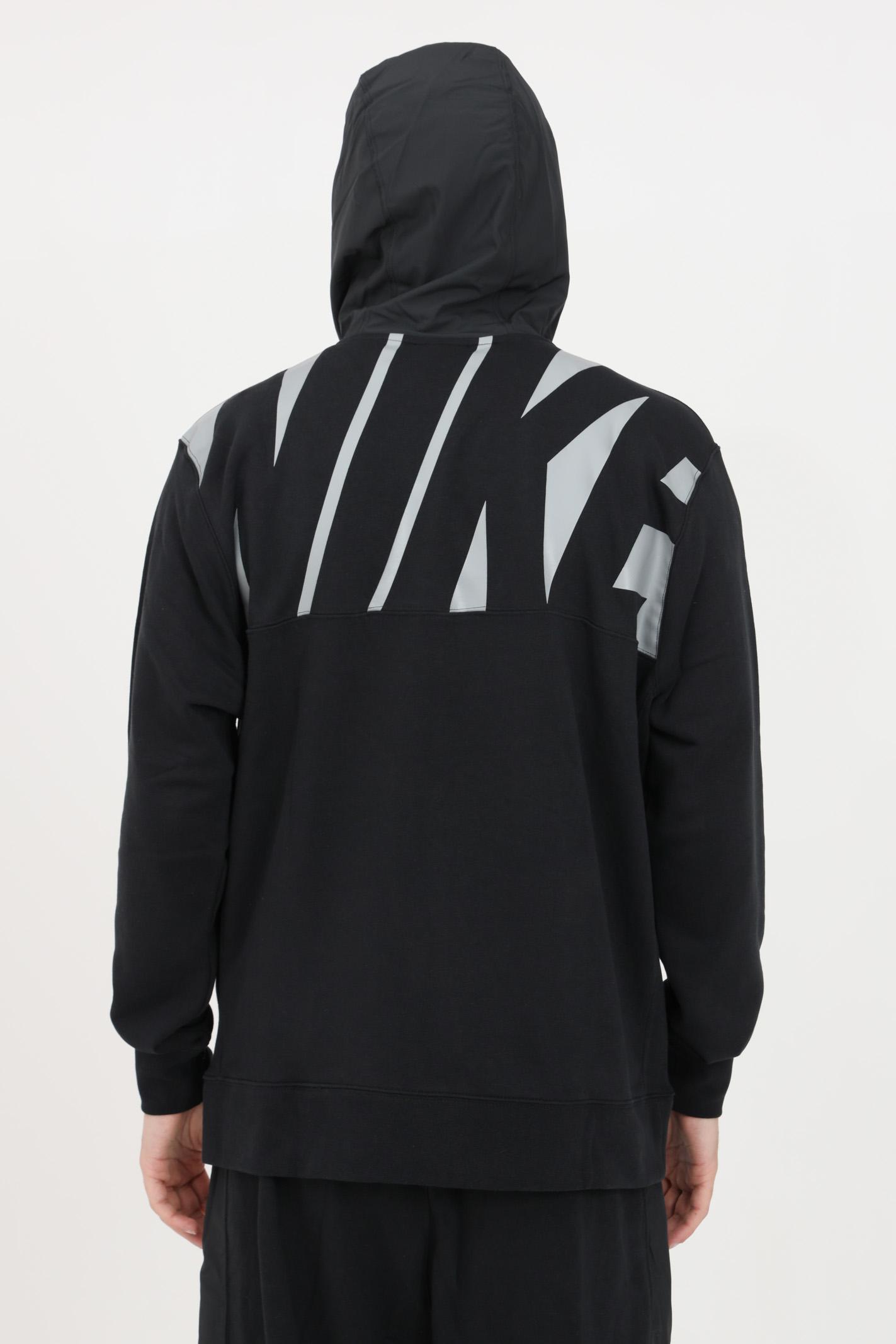 Felpa uomo nero nike con zip frontale NIKE | Felpe | CZ9944010