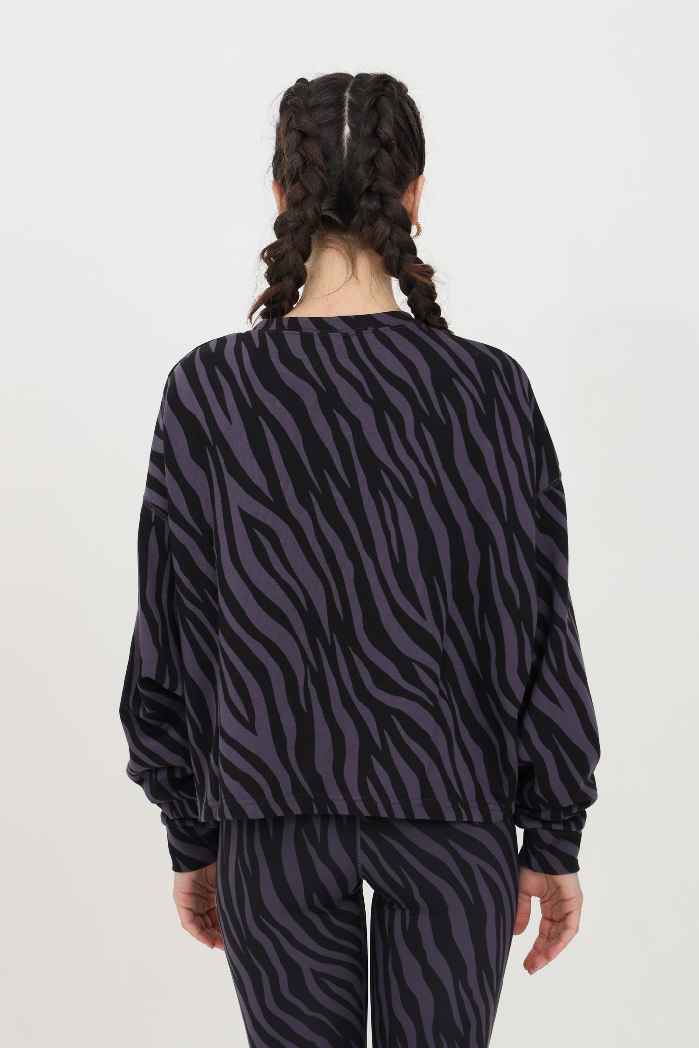 Round neck jersey icon clash zebrata NIKE | Sweatshirt | DC6898573