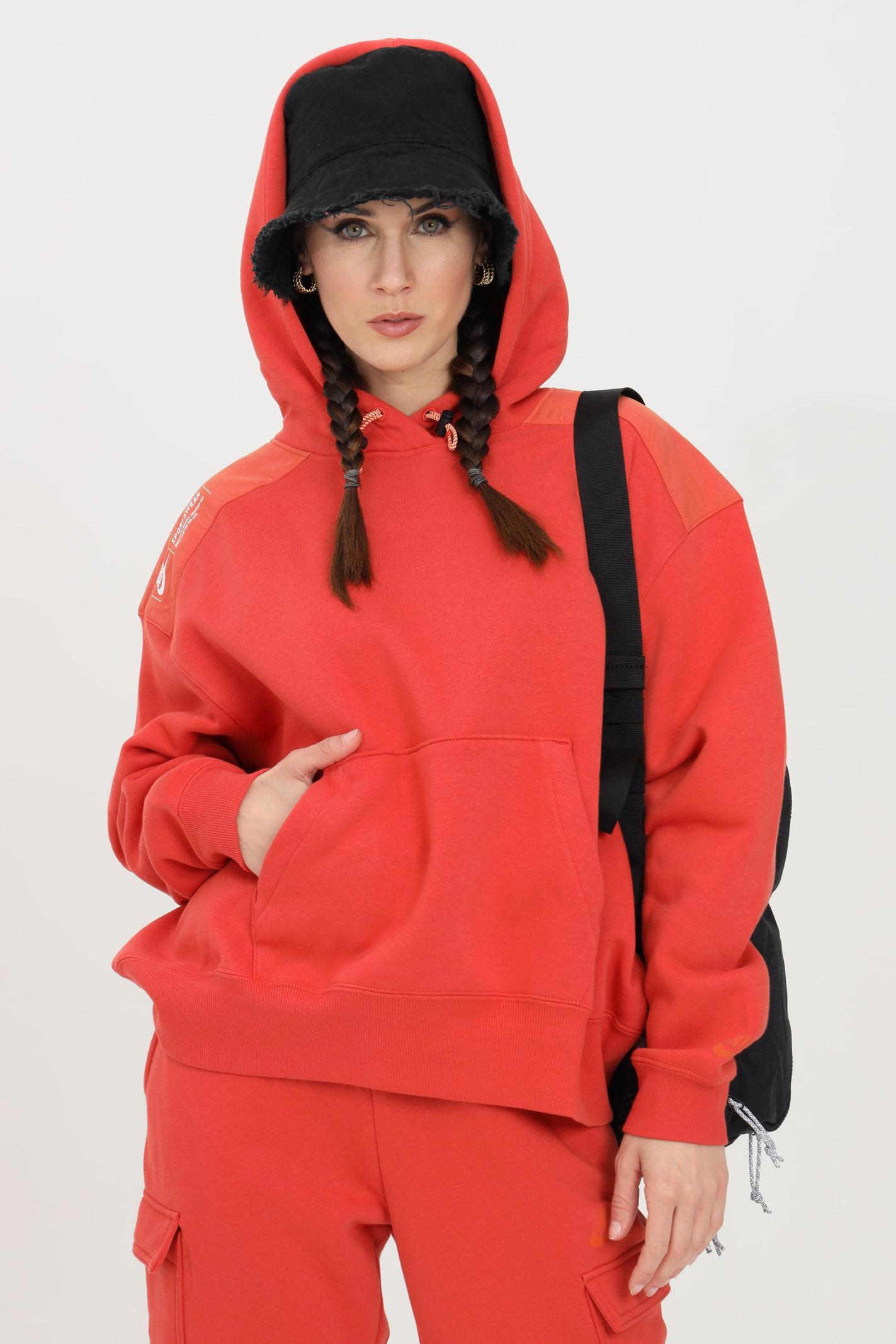 Felpa pullover in fleece con cappuccio NIKE | Felpe | DD3605852