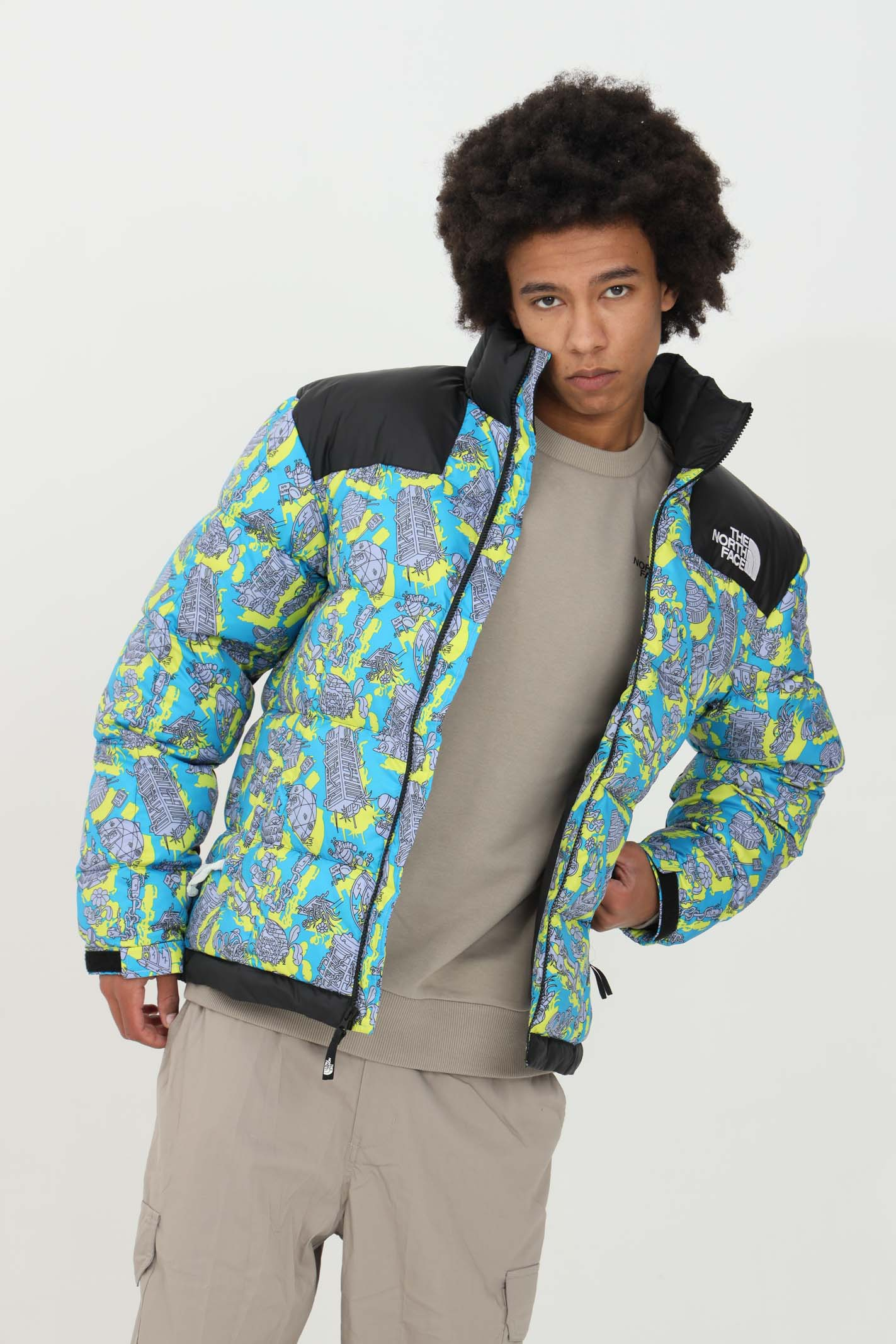 Printed down jacket THE NORTH FACE | Jacket | NF0A3Y2305B105B1