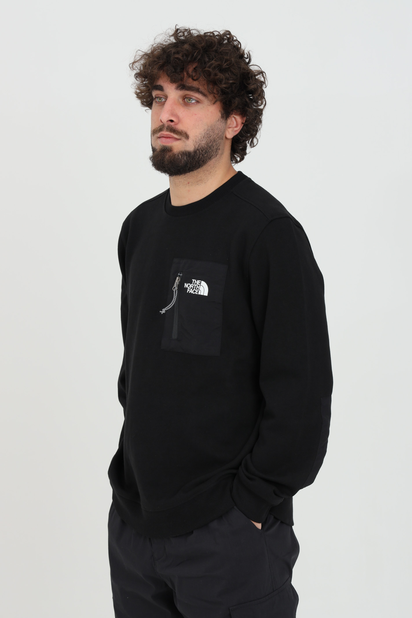 Black sweatshirt with crew neck, brand: The north face THE NORTH FACE | Sweatshirt | NF0A5316JK31JK31