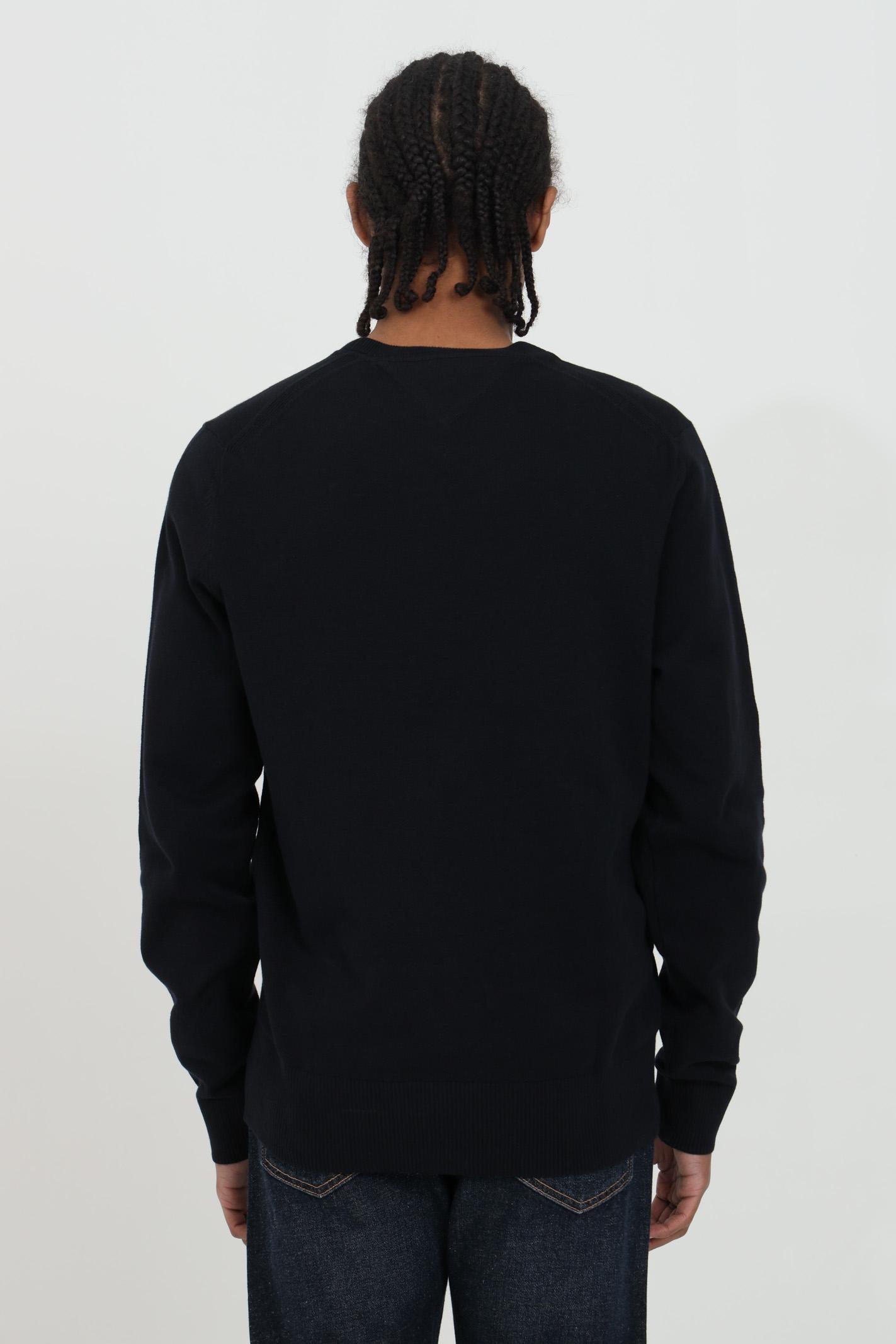 Ribbed crew neck sweater TOMMY HILFIGER | Knitwear | MW0MW17351DW5