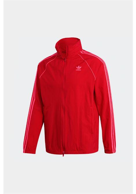 Felpa con zip Adidas ADIDAS | Felpe | ED6083SCARLET