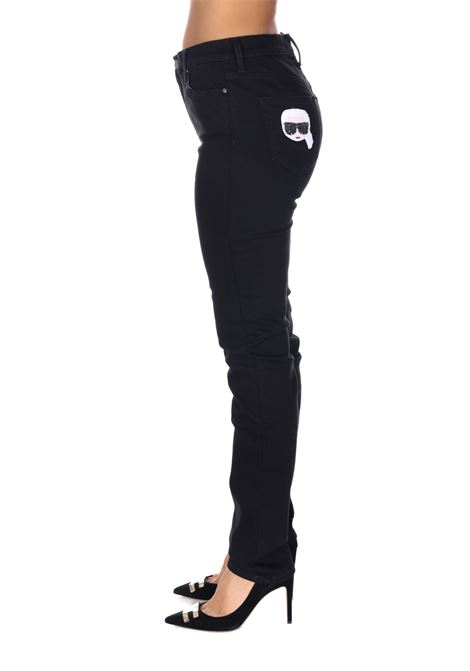 Pantalone Logato Klwp0001 KARL LAGERFELD | Pantaloni | KLWP000101130