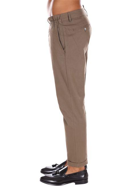 Pantalone Classico Con Catena Yes London YES LONDON | Pantaloni | 3057FANGO