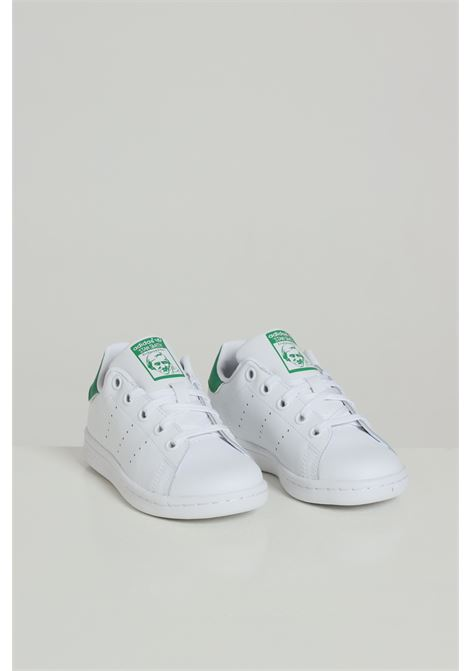 White sneakers, basic model with laces. Stan smith. Baby model. Brand: Adidas ADIDAS | Sneakers | BA8375FTWWHT/FTWWHT