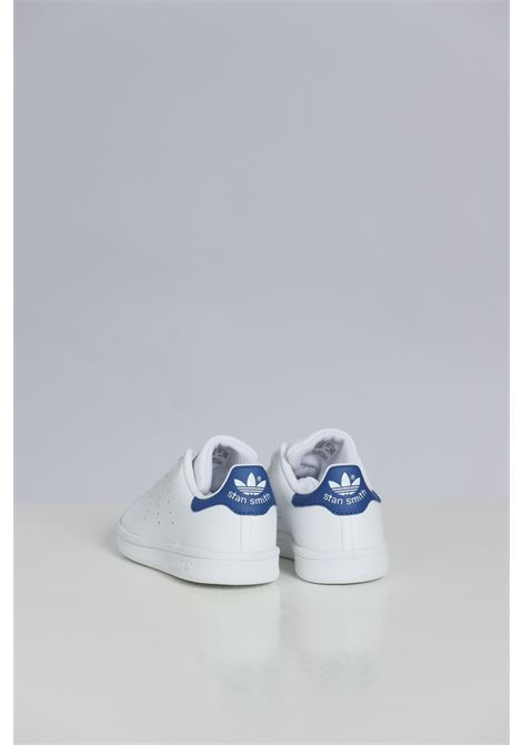 White sneakers, basic model with laces. Baby model. Brand: Adidas ADIDAS | Sneakers | BB0694FTWWHT/FTWWHT