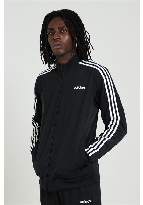 ADIDAS   Sweatshirt   DQ3070BLACK/WHITE