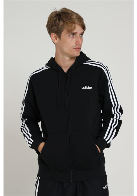 ADIDAS | Sweatshirt | DQ3101BLACK/WHITE