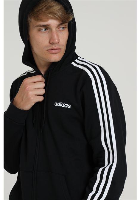 ADIDAS | Sweatshirt | DQ3101BLACK/WHITE