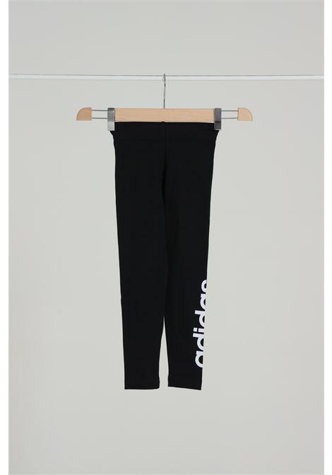 ADIDAS | Leggings | DV0337BLACK/WHITE