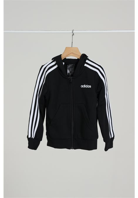 ADIDAS | Sweatshirt | DV0368BLACK/WHITE