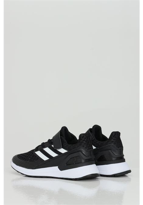 RapidaRun El K sneakers con trafori e inserti in pelle. ADIDAS | Sneakers | EF9258.