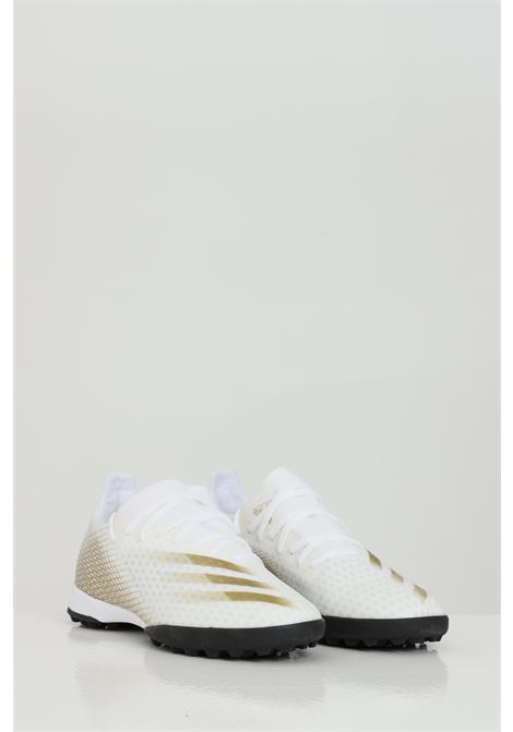 X ghosted.3 soccer shoe with rubber studs ADIDAS | Football boot | EG8199FTWWHT/METGOL