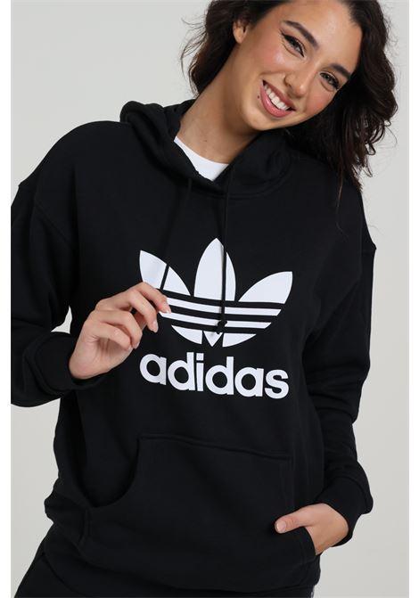 ADIDAS | Sweatshirt | FM3307BLACK/WHITE