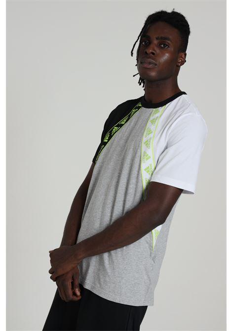 ADIDAS   T-shirt   FU0028MGREYH/BLACK/WH