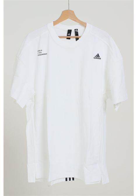 ADIDAS   T-shirt   FU6568WHITE