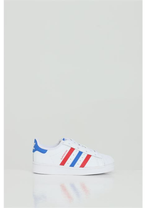 Superstar El sneakers with coloured bands ADIDAS | Sneakers | FW5849.