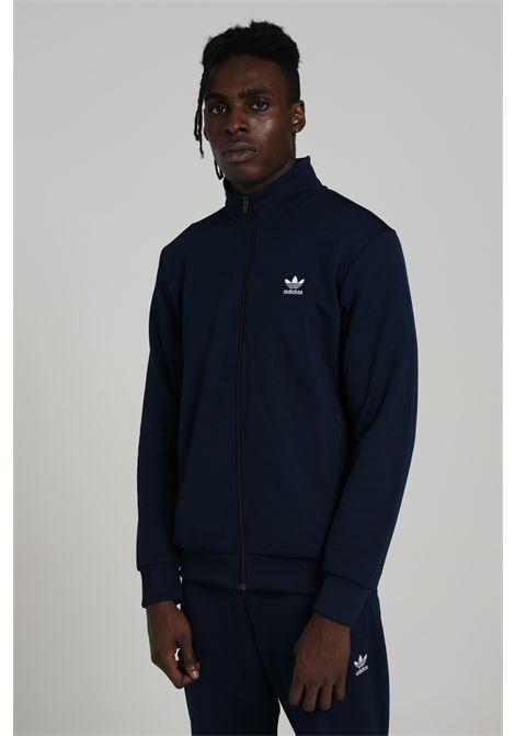 Adidas black men's sweatshirt with zip  ADIDAS | Sweatshirt | GD2547CONAVY