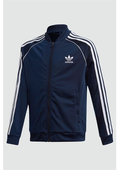 Children's sweatshirt/ a blue adidas track top sst with zip ADIDAS | Sweatshirt | GD2675..CONAVY-WHITE