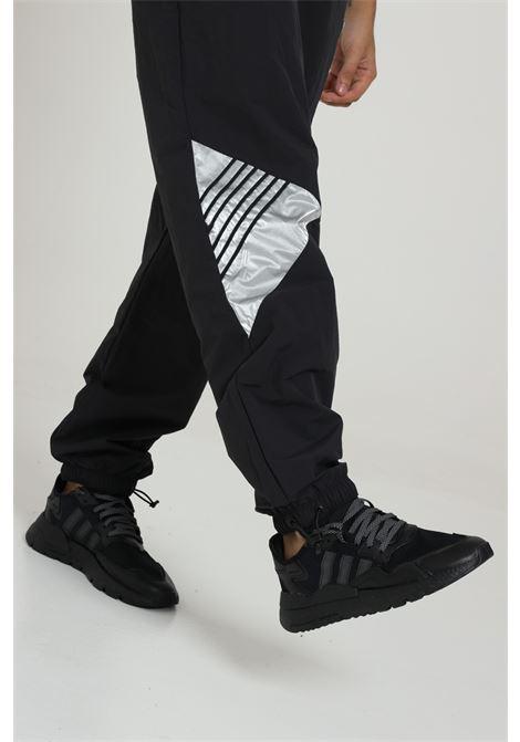 Pantalone Con Molla In Vita ADIDAS | Pantaloni | GD5804BLACK/SILVMT