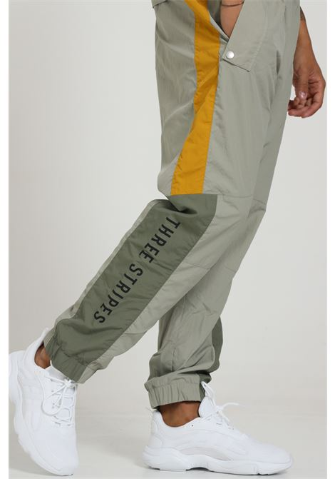 Pantalone Con Molla In Vita E Logo Frontale ADIDAS | Pantaloni | GE0392FEAGRY