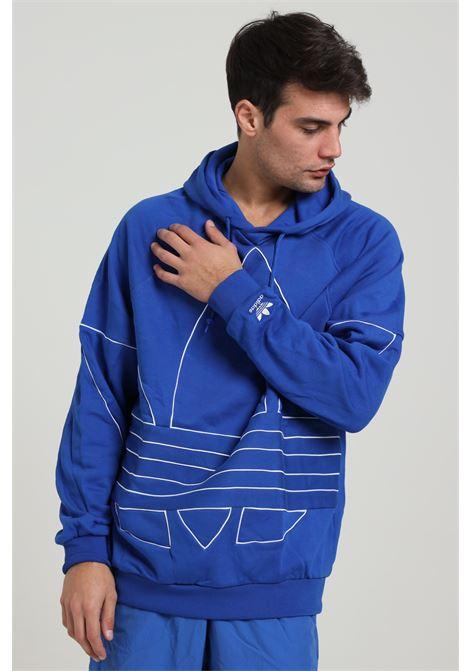 ADIDAS   Sweatshirt   GE0822ROYBLU/WHITE