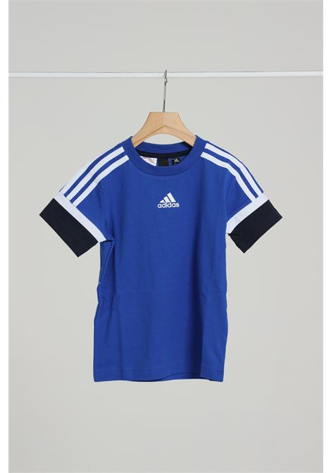 Felpa girocollo ADIDAS | T-shirt | GE0905ROYBLU/LEGINK