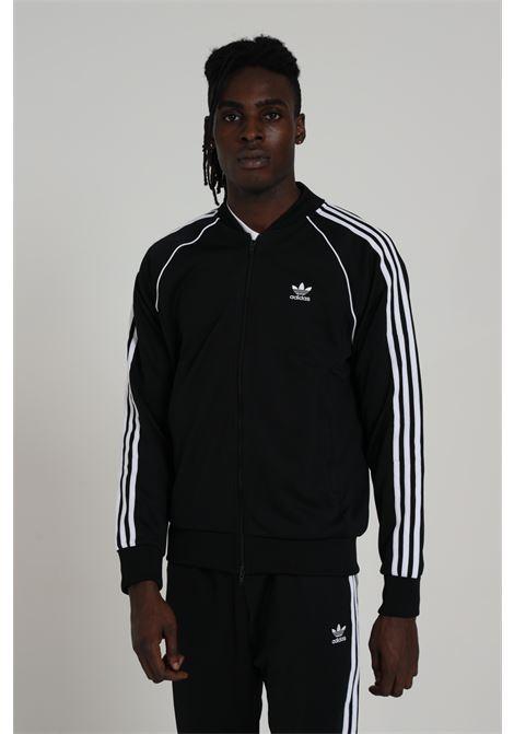 ADIDAS   Sweatshirt   GF0198BLACK/WHITE