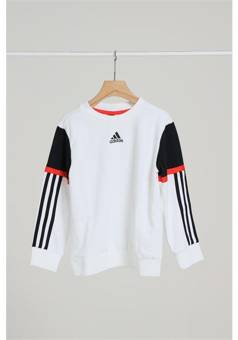 ADIDAS | Sweatshirt | GF4154WHITE/BLACK