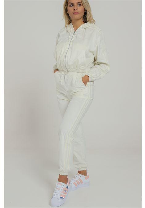 Pantalone con molla in vita ADIDAS | Pantaloni | GU0806WHITE