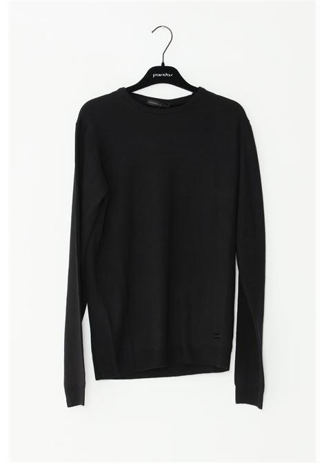 ALESSANDRO DELL'ACQUA | Knitwear | AD00854-T2024NERO