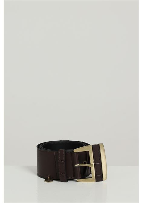 Cintura Con Borchie Fantasia Con Arriccio ARGENTO ANTICO | Cinture | AA1587MORO
