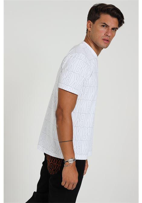T-shirt Con Stampa C702100e2199 BIKKEMBERGS | T-shirt | C702100E21990025