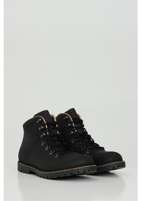 Jackson black leather boots with laces BIRKENSTOCK | Boot | 1017325BLACK