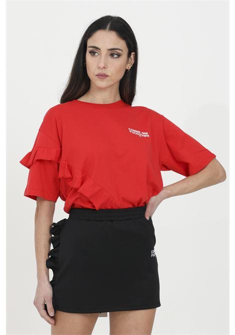 COMME DES FUCKDOWN | T-shirt | CDFD1136ROSSO