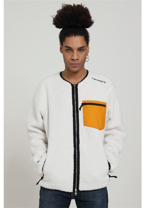 Giubbotto in lana con zip CONVERSE | Felpe | 10019461-A01A01