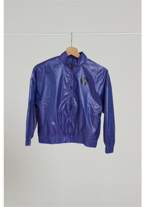 Giubbotto leggero bambina blu viola, modello comodo CONVERSE | Giubbotti | 4CA832H40