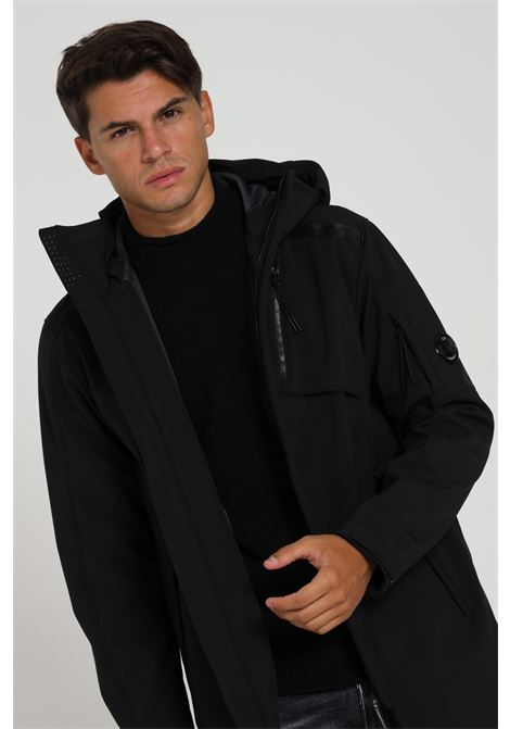 Long Jacket Con Logo 09cmow045a-005784a C.P. COMPANY | Giubbotti | 09CMOW045A-005784A999