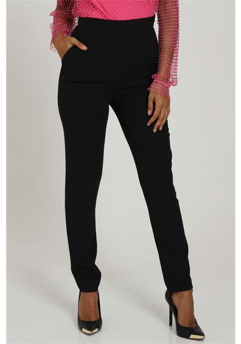 Pantalone Vita Alta Tasche Laterali DRAM+êE | Pantaloni | D346BLACK