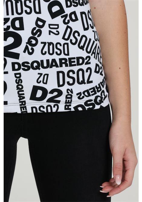 T-shirt Stampata Modello Comodo DSQUARED2 | T-shirt | D8H133270 T018