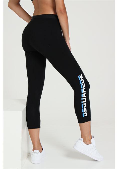 Leggings Con Logo Laterale DSQUARED2 | Leggings | D8N333240010