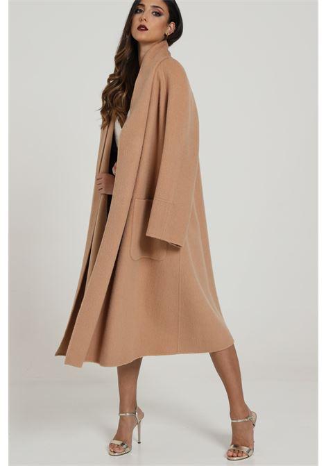 Cappotto Lungo Con Tasche Laterali ELISABETTA FRANCHI | Cappotti | CP29H07E2W71