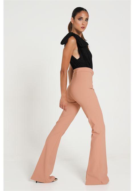 Pantalone A Zampa Modello Slim ELISABETTA FRANCHI | Pantaloni | PA36306E2W71