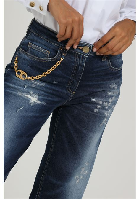 Jeans Cinque Tasche Pj76i06e2 ELISABETTA FRANCHI   Jeans   PJ76I06E2447