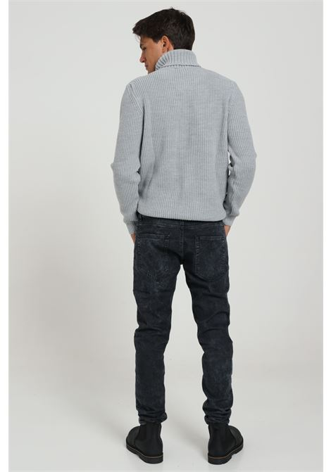 Jeans Modello Slim FAMILY FIRST MILANO | Jeans | J780GYDENIM MARBLE GR