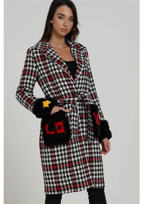 Cappotto Stampato Con Tasche Frontali Logate FROONT STREET | Cappotti | FR259033