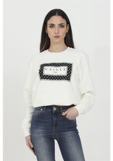 GAELLE   Sweatshirt   GBD7046OFF WHITE